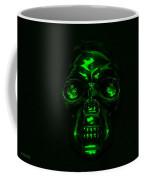 Skull In Green Coffee Mug