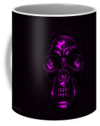 Skull In Purple Coffee Mug
