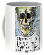 Skull Quoting Oscar Wilde.4 Coffee Mug
