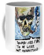 Skull Quoting Oscar Wilde.6 Coffee Mug
