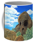 Skull Rock Coffee Mug by Anastasiya Malakhova