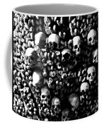 Skulls And Bones In The Catacombs Of Paris France Coffee Mug