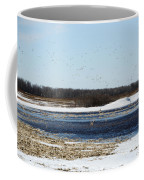 Sky Full Of Ducks Coffee Mug
