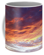 Sky On Fire Coffee Mug by Les Cunliffe