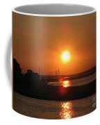 Sky On Fire Over Chincoteague Island Coffee Mug