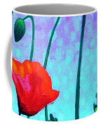 Sky Poppies Coffee Mug