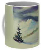 Sky Shadows And Spruce Coffee Mug