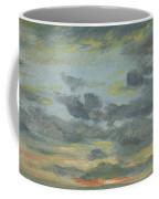 Sky Study, Sunset, 1821-22 Coffee Mug