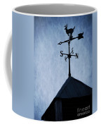 Skyfall Deer Weathervane  Coffee Mug by Edward Fielding