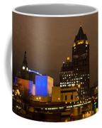 Skyline At The Milwaukee River Coffee Mug