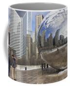 Skyline Reflected Coffee Mug