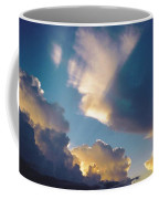 Skyscape - Puffy White Clouds Coffee Mug