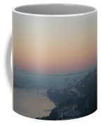 Skyscraper And Bridge Coffee Mug