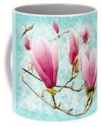 Skyward Magnolia Painterly 4 Coffee Mug