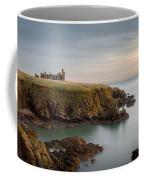 Slains Castle Sunrise Coffee Mug by Dave Bowman