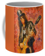 Slash Shredding On Guitar Coffee Mug
