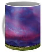 Slc Sunset Panorama Coffee Mug
