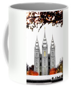 Slc White N Red Temple Coffee Mug
