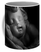 Sleeping Cherub #1bw Coffee Mug