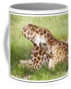 Sleeping Giraffe Coffee Mug