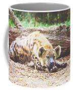 Sleeping Hyena Coffee Mug