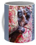 Sleeping In Today Coffee Mug by Katie Cupcakes