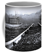 Sleeping On The Tracks Coffee Mug