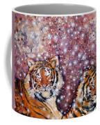 Sleeping Tigers Dream Such Sweet Dreams Kitties In Heaven Coffee Mug