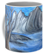Sleepy Mountain Coffee Mug