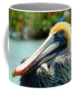 Sleepy Pelican Coffee Mug