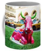 Cow Parade N Y C 2000 - Sleepy Time Cow Coffee Mug
