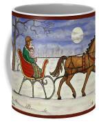 Sleigh Ride With Grandpa Coffee Mug