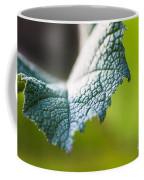Slice Of Leaf Coffee Mug by John Wadleigh