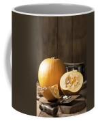 Slicing Pumpkins Coffee Mug