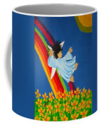 Sliding Down Rainbow Coffee Mug