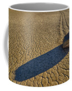Sliding Rock Of Racetrack Playa Coffee Mug
