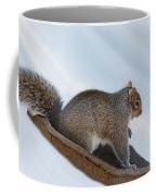 Sliding Squirrel Coffee Mug