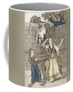 Slight Of Hand By A Monkey Or The Ladys Coffee Mug