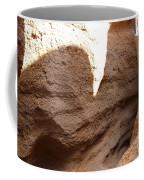 Slot Canyon Shadows Coffee Mug
