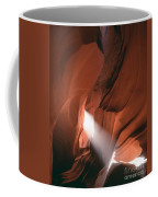 Antelope Canyon Sunbeam Coffee Mug