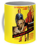 Sloughi Art - Love Is My Profession Movie Poster Coffee Mug