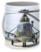 Slovakian Mi-17 With Digital Camouflage Coffee Mug