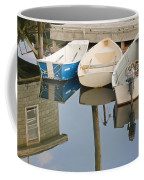Small Boats And Dock In Port Clyde Maine Coffee Mug