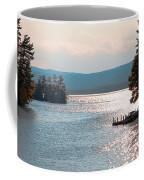Small Dock On Lake George Coffee Mug