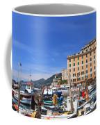 small harbor in Camogli. Italy Coffee Mug