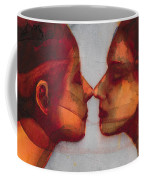 Small Mirror Twin Coffee Mug by Graham Dean