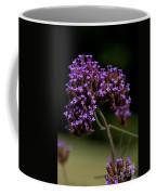 Small Purple Flowers On A Verbena Plant Coffee Mug