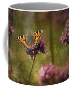 Small Tortoiseshell Butterfly Coffee Mug