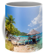 Small Wharf In Sapzurro Coffee Mug