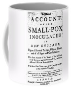 Smallpox: Title Page, 1726 Coffee Mug